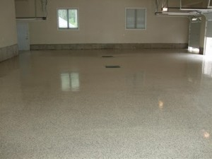 Decorative Flake Floor